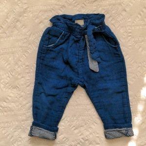 ZARA pants for girls 18-24m